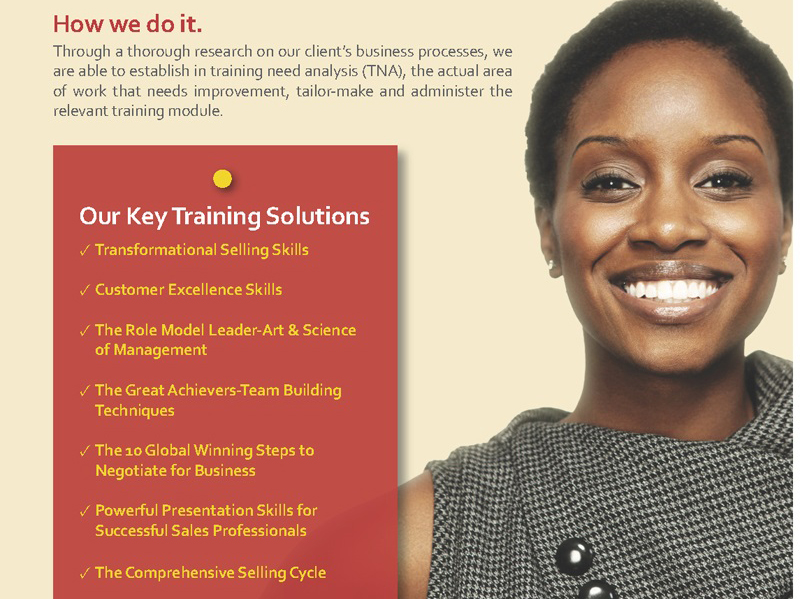 Sales and Marketing training in kenya